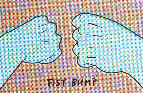 Fist pounds - Willipedia - Williams